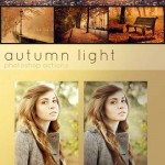 دانلود اکشن فتوشاپ پاییز و رنگ های پاییزی  Photoshop Actions Autumn Light