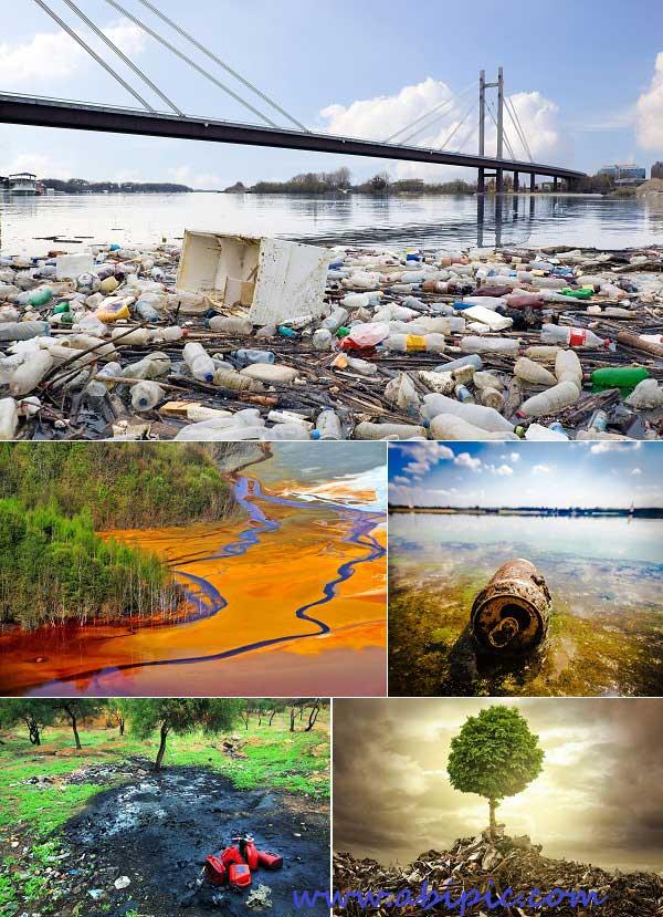 دانلود عکس استوک آلودگی محیط زیست Stock Photo Environment Pollution