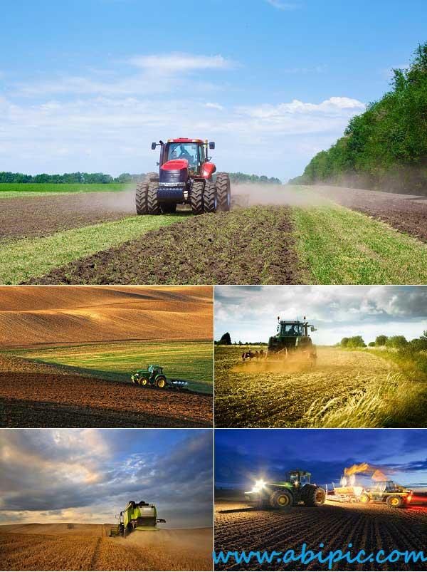 دانلود تصاویر استوک تراکتور و کشاورزی Stock Photo Tractor & Agriculture