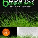 دانلود 6 طرح پس زمینه شفاف سبزه چمن و علف با کیفیت بالا
