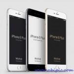 دانلود طرح لایه باز آیفون 6 برای فتوشاپ iPhone 6 Plus PSD Mockup