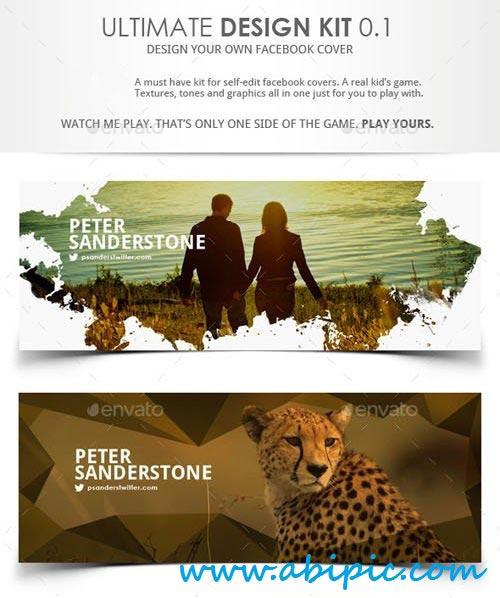 دانلود سری 18 کاور تایم لاین فیس بوک Facebook Timeline Cover