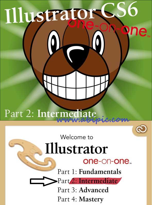 دانلود فیلم آموزش ایلاستریتور سی سی Illustrator CS6 One-on-One: Intermediate
