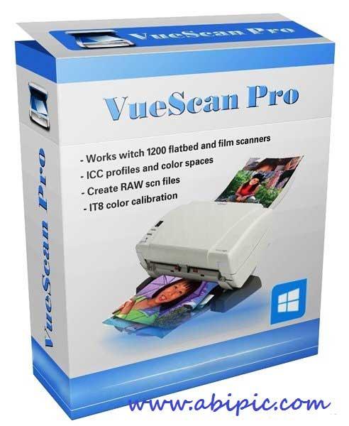 دانلود نرم افزار اسکن حرفه ای VueScan Pro 9.4.48