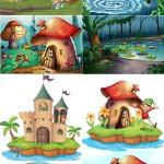 دانلود وکتور تصویر سازی های فانتزی Fantasy Vectors