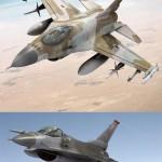 دانلود مدل سه بعدی هواپیمای جنگی F16