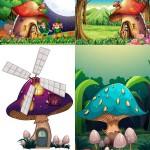 دانلود وکتور تصویرسازی های فانتزی سری 2 Fantasy Vectors
