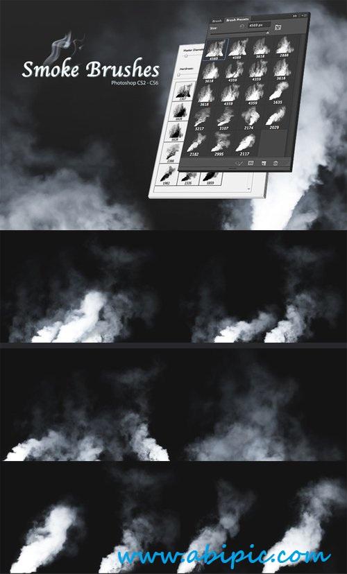 دانلود براش دود شماره 6 Smoke Brushes