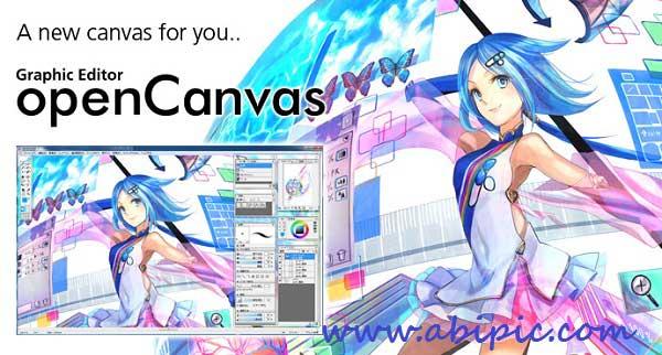 دانلود نرم افزار طراحی تصاویر گرافیکی و نقاشی OpenCanvas 6.0.05