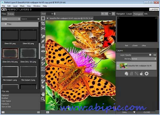 دانلود نرم افزار حرفه ای کار بر روی لایه ها OnOne Perfect Layers 9.0 Premium Edition