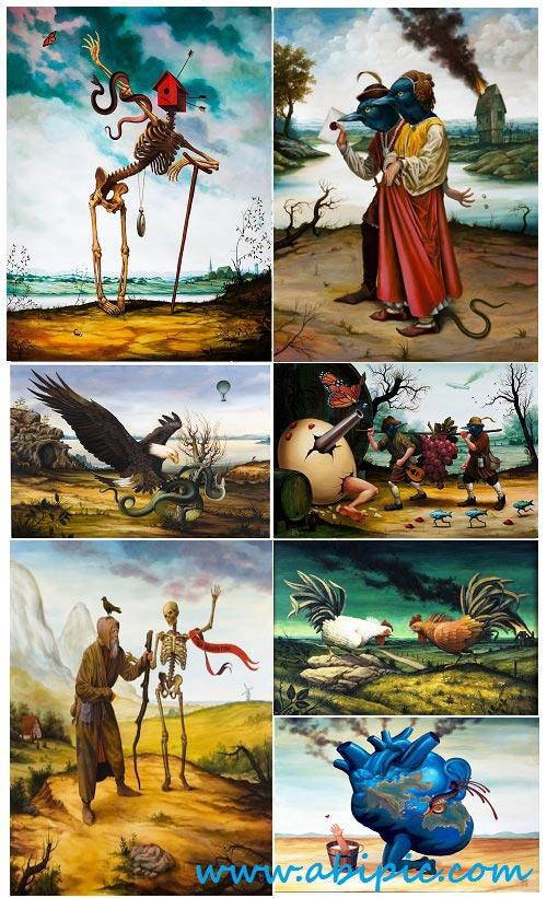 دانلود نمونه تصاویر هنری شماره 3 Art Collection