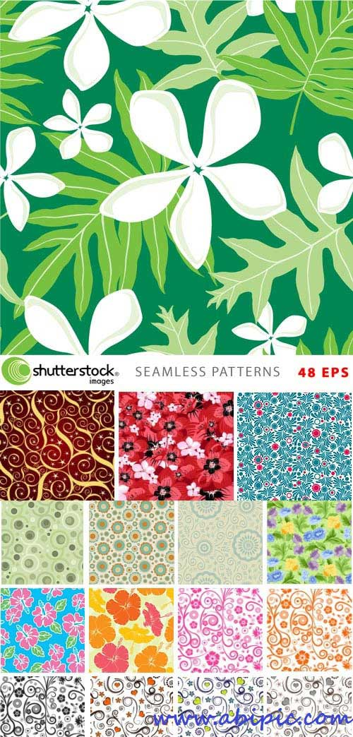 دانلود وکتور پترن و الگوهای یکپارچه شماره 9 Seamless Patterns