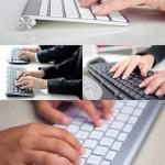 دانلود تصاویر استوک تایپ و کیبورد Photos – Typing on Keyboard