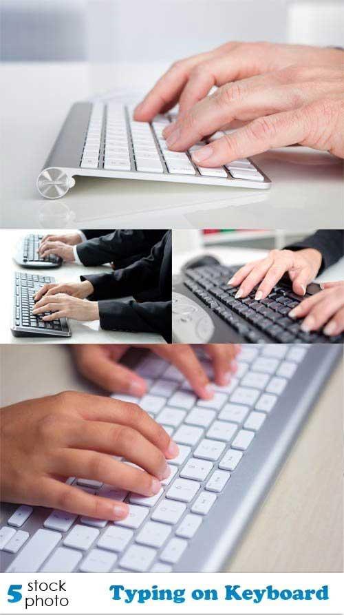 دانلود تصاویر استوک تایپ و کیبورد Photos - Typing on Keyboard