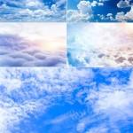 دانلود عکس استوک آسمان آبی و ابری شماره 2 Stock Photo – Sky with Clouds Backgrounds