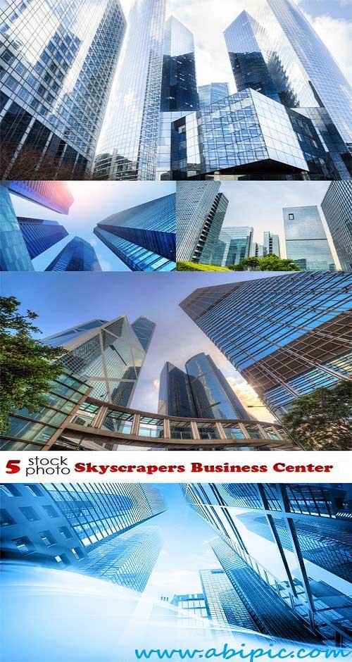 دانلود تصاویر استوک آسمان خراش های تجاری Stock Photos Skyscrapers Business