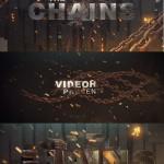 دانلود افترافکت المان های 3 بعدی زنجیر Chains Element 3D Title Sequence