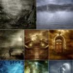 دانلود تصاویر استوک گوتیک با کیفیت بالا سری 1 Stock Image Gothic Scenery
