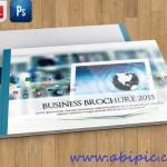 دانلود بروشور 12 صفحه ای ایندیزاین و فتوشاپ Brochure Template 12 pages
