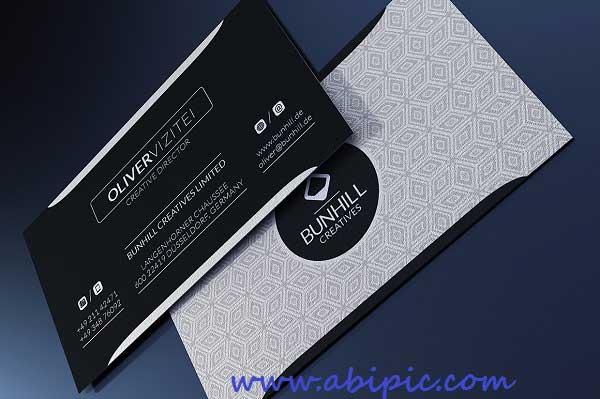 دانلود کارت ویزیت شیک و مدرن شماره 135 Clean Business Card