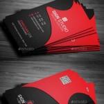 دانلود طرح لایه باز کارت ویزیت شمار 136 Corporate Business Card