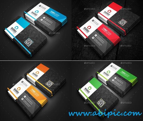 دانلود طرح لایه باز کارت ویزیت شماره 137 Modern Business Card