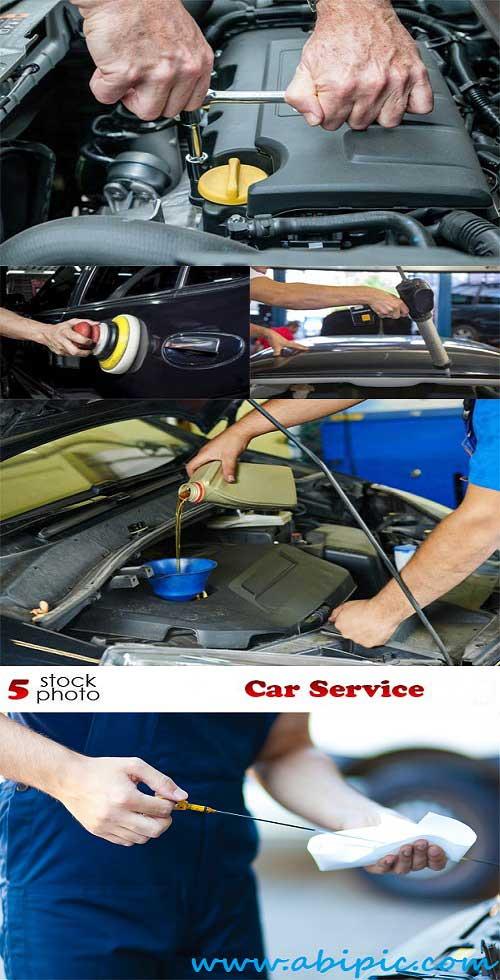 دانلود تصاویر استوک تعمیرگاه و سرویس اتومبیل Stock Photos Car Service