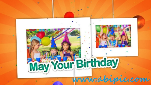 Videohive Happy Birthday Celebrations Photo Gallery
