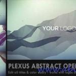 دانلود طرح افترافکت انتزائی Plexus Abstract Opener