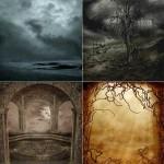 دانلود تصاویر استوک پس زمینه گوتیک سری 2 Stock Image Gothic Scenery