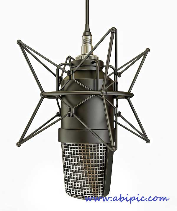 دانلود تصاویر استوک میکروفون Professional Microphones