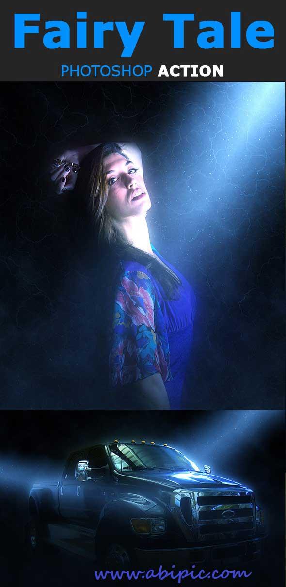 دانلود اکشن فتوشاپ تخیلی و جادویی Fairy Tale Photoshop Action