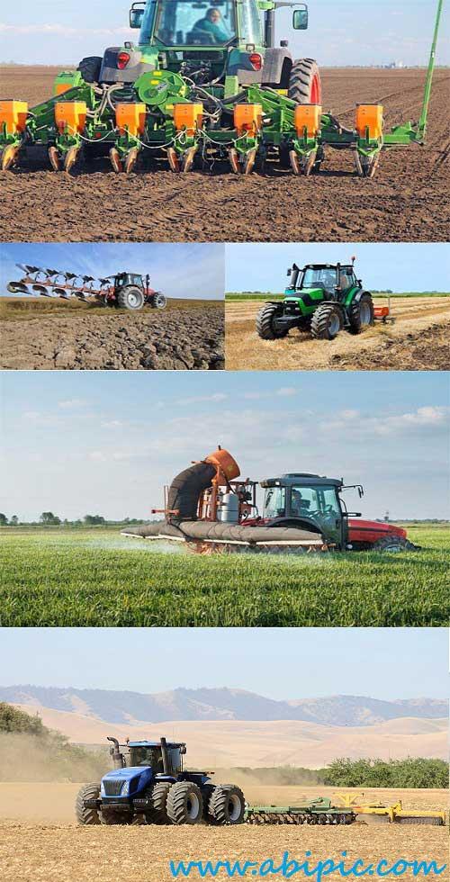 دانلود تصاویر استوک کاشت و برداشت محصول Stock Photos Sowing Harvest