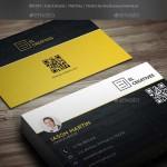 دانلود طرح لایه باز کارت ویزیت با طرح چوب Creative Wooden Business Card