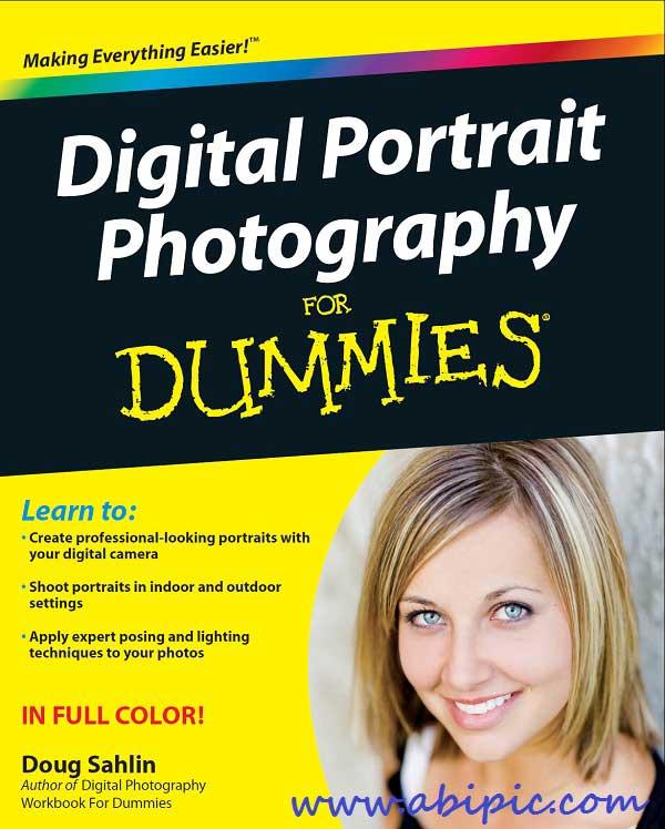 کتاب آموزش عکاسی پرتره برای افراد تازه کار Digital Portrait Photography For Dummies