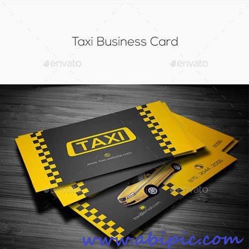 دانلود کارت ویزیت تاکسی و تاکسی تلفنی شماره 2 Taxi Business Card