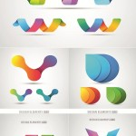دانلود وکتور لوگو اوریگامی Origami Style Logos Vector