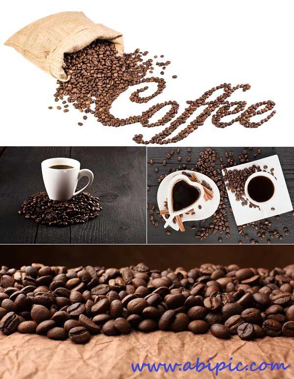 دانلود عکس استوک دانه و فنجان قهوه Stock Photos - Coffee
