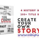 دانلود افترافکت افکت های متن و ساخت تایپوگرافی Videohive Typography Constructor