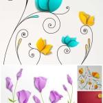 دانلود وکتور های زیبا از گل سوسن و خشخاش Flowers vector lilies red poppies