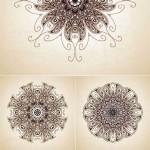 دانلود وکتور طرح های گرافیکی اسلامی سری 2 Islamic Vector Designs SET