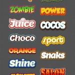 دانلود استایل لوگو ایلاستریتور Illustrator Logo Graphic Styles