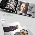 طرح پیش نمایش و بروشور عکاسی فتوشاپ Creative Photography Portfolio A4 Brochure