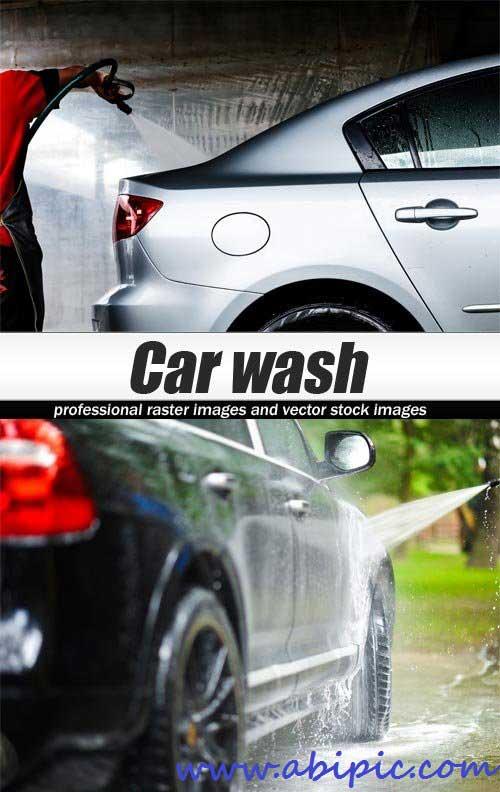 دانلود تصاویر استوک کارواش Car wash