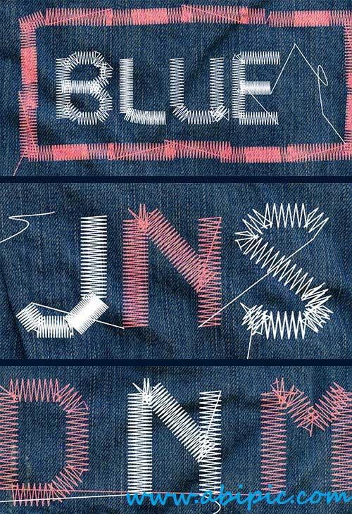 دانلود فونت PT Sewed برای طراحی تی شرت و لباس و سر خط ها