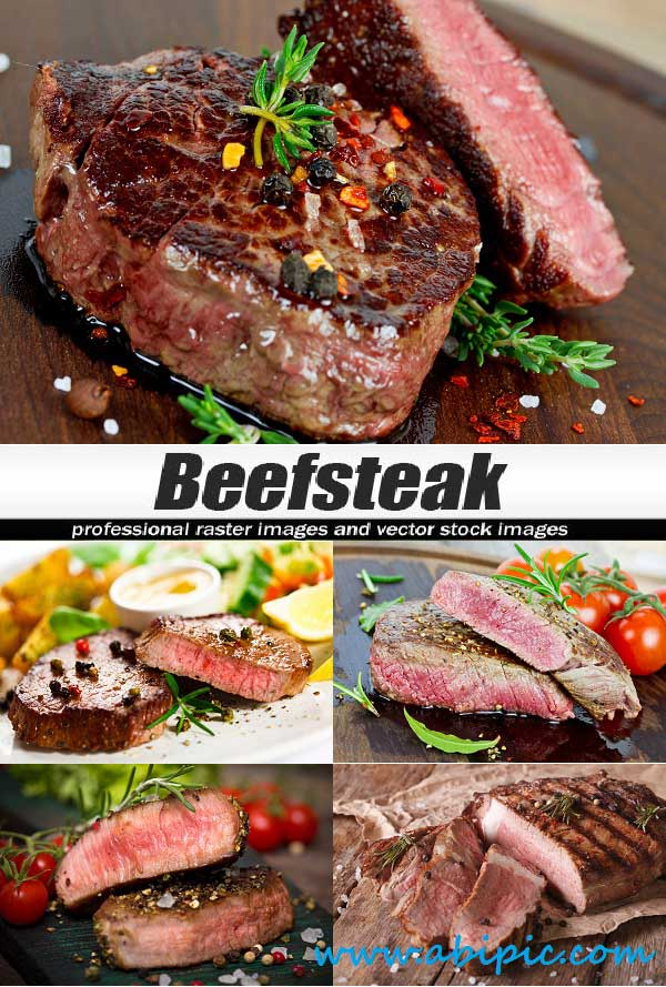 دانلود تصاویر استوک استیک Stock Photos Beefsteak