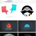 دانلود مجموعه 25 وکتور لوگو با طرح سر انسان Head Logo Vector