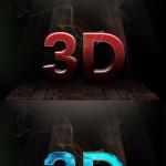 دانلود 10 استایل 3 بعدی فتوشاپ سری جدید 3D Text Styles