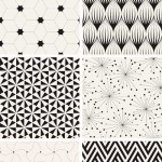 دانلود وکتور پترن و الگوهای مدرن Modern Stylish Patterns