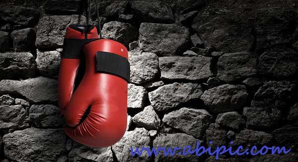 دانلود تصاویر استوک دستکش بوکس Boxing gloves